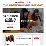 Služby Société - papirovedary.cz